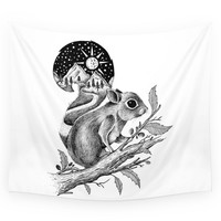 Society6 SQUIRREL Wall Tapestry