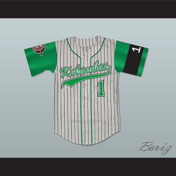 Jarius Evans 1 Kekambas Baseball Jersey Includes ARCHA Patch and G-Baby Memorial Sleeve