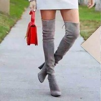Sexy Over Knee Boots