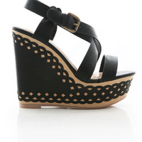 Scallop Wave Wedges - Wedge Heels at Pinkice.com