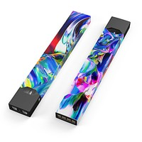 Blurred Abstract Flow V21 - Premium Decal Protective Skin-Wrap Sticker compatible with the Juul Labs vaping device
