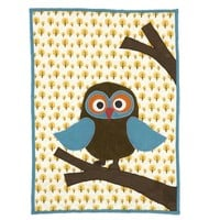 Cotton kids blanket OWL Owl Collection by ferm LIVING