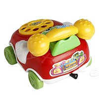 Baby Toys Music Cartoon Phone Educational Developmental Kids Toy Gift