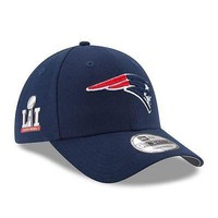 New England Patriots Hat New Era Super Bowl LI Side Patch The League 9FORTY