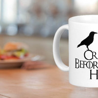Crows Before Hoes Mug Cup Game of Thrones Nights Watch Personalise Gift amazing mug gift