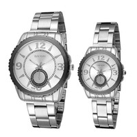 Lovers Classic Casual Sports Watches Mens Womens Steel Strap Watch Best Christmas Lover Gift