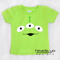 Toy Story Alien Shirt Toddler - Baby Girl Toy Story Onesuit - Boy Toy story tshirt Alien - Toy Story t shirt - Halloween Costume Adult -