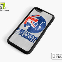 5 Seconds Of Summer Britain Flag iPhone 6 Case Cover by Avallen