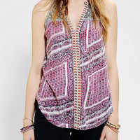 Urban Outfitters - Ecote Malta Embroidered Tank Top