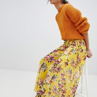 French Connection Floral Wrap Maxi Skirt at asos.com