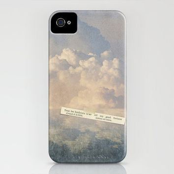 CLOUDS  - FORTUNE iPhone Case by M✿nika  Strigel | Society6