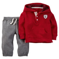 2-Piece Thermal Pullover & Pant Set
