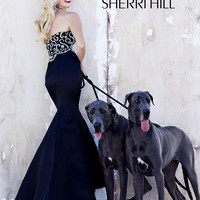 Sherri Hill Pageant Quality Prom Pageant Dress 2850