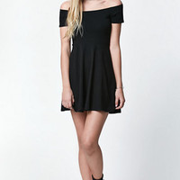 LA Hearts Off-The-Shoulder Fit & Flare Dress at PacSun.com