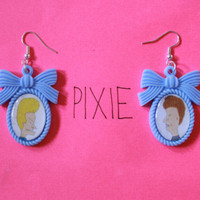 Beavis and Butthead cameo earrings by PIXIEandPIXIER on Etsy