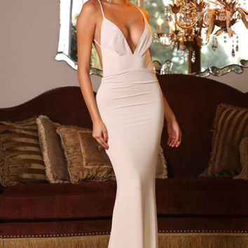 Jolie Gown Oyster