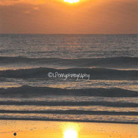 Cocoa Sunrise Photographic Print