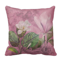 Vintage Magnolia Song Apparel and Gifts Pillows