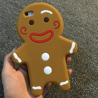 Cute Iphone 6/6s Hot Sale On Sale Hot Deal Stylish Korean Iphone Apple Biscuits Silicone Soft Phone Case [6034132097]
