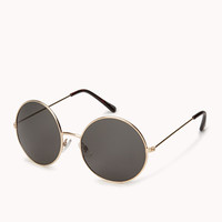 F5341 Simply-Stated Round Sunglasses