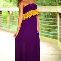 Halftime Special Maxi, Purple/Gold