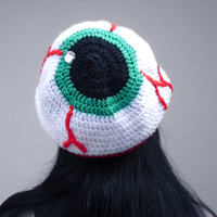 Eye See You - Slouchy Eyeball Beanie