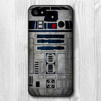 Retro Star Wars R2D2 Robot Protective Cover High Quality Phone Case For iPhone 6 Plus and 6 5 5S 5C 4 4S