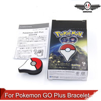 Pokemon GO Plus Bracelet Bluetooth interactive figure toys support IOS and Android