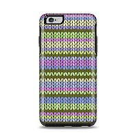 The Colorful Knit Pattern Apple iPhone 6 Plus Otterbox Symmetry Case Skin Set