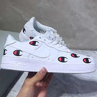 Nike AIR FORCE 1 Air Force Men and Women Classic Champion Leisure Shoes