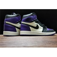 "Air Jordan 1 Retro ""Court Purple"""