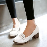 Women Pumps Low Heeled Jelly Shoes Woman 3530