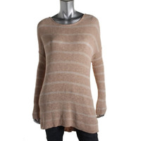 Free People Womens Knit Oversized Tunic Sweater