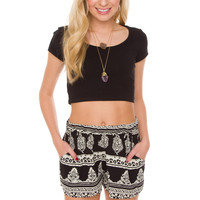Lizbeth Shorts - Black