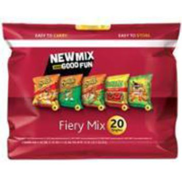 FIERY VARIETY CHIPS MIX 20 PK