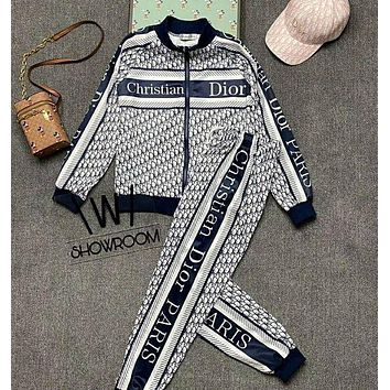 Dior Casual fashion, foreign style, fashionable and fashionable suit, same for men and women