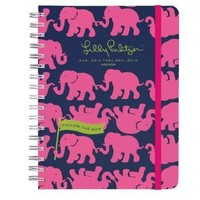 Lilly Pulitzer 2013-2014 Large Agenda - Tusk In Sun