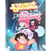 Steven Universe: Guide To The Crystal Gems Hardcover Book