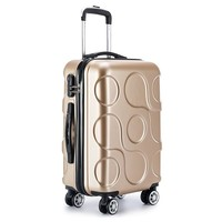 2018 NEW  Travel waterproof luggage rolling suitcase