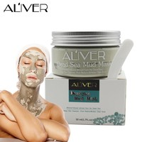 ALIVER Deep Skin Cleanser Dead Sea Mud Mask For Face Acne Oily Skin Mud Mask Face Skin Care