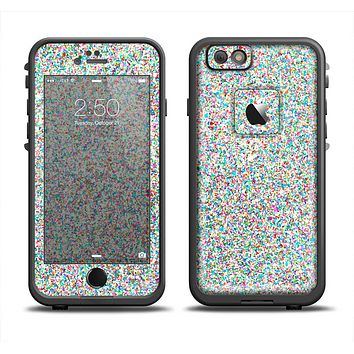 The Colorful Small Sprinkles Apple iPhone 6 LifeProof Fre Case Skin Set