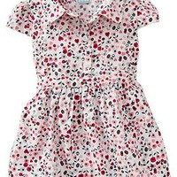 Button-Yoke Dresses for Baby