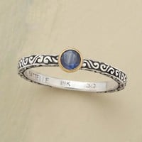 Blue Sapphire Scroll Ring | Robert Redford's Sundance Catalog