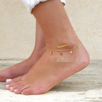 Fashion Chain Anklet Bracelet Foot Ankle Women Lady Jewelry Elegant = 4672390532