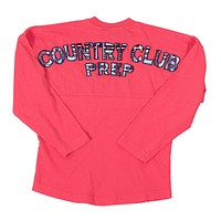 Childs Country Club Prep Jersey in Coral and Madras by Spirit Jersey