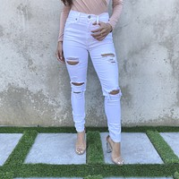 Gracie High Rise Skinny Jeans