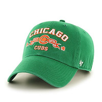 MLB Chicago Cubs Relaxed Fit Retro St. Patty's Embroidered Cap by '47