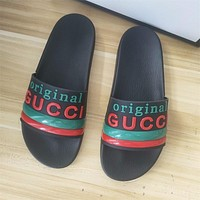 GG men's and women's slippers shoes