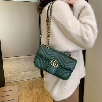 Gucci fashion versatile chain messenger bag [4202360078372]