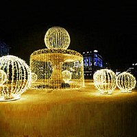 Festival Led String Light 10M 20M 30M 50M 100M Waterproof Strip 100-800Leds For Christmas Party Wedding Garden Square Holiday WR